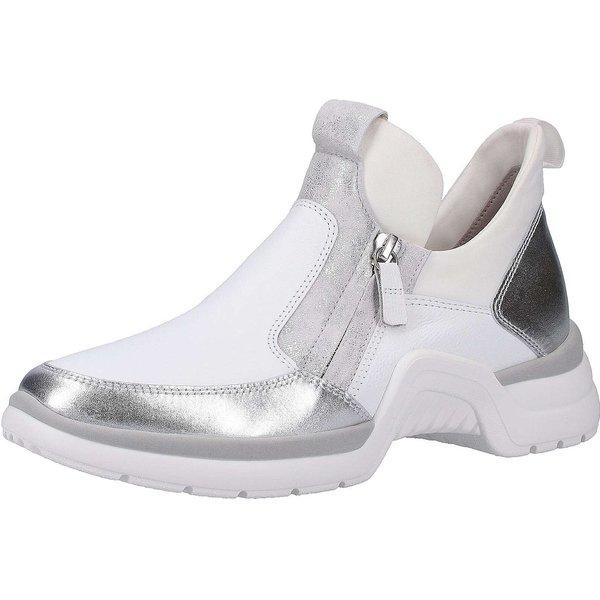 Gabor Sneaker Sneakers Low silber Damen Gr. 42