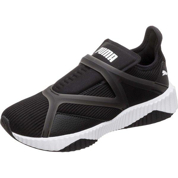 PUMA Defy Cage Sneaker Damen schwarz/weiß Damen Gr. 40,5