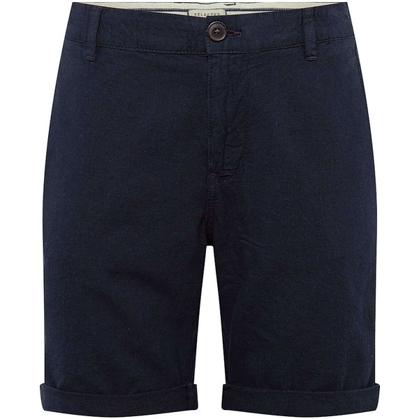 Selected Homme - Short en lin - Sable-Beige