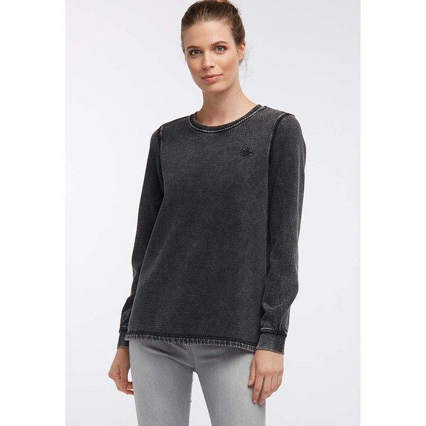 DreiMaster Sweatshirt schwarz Damen Gr. 36