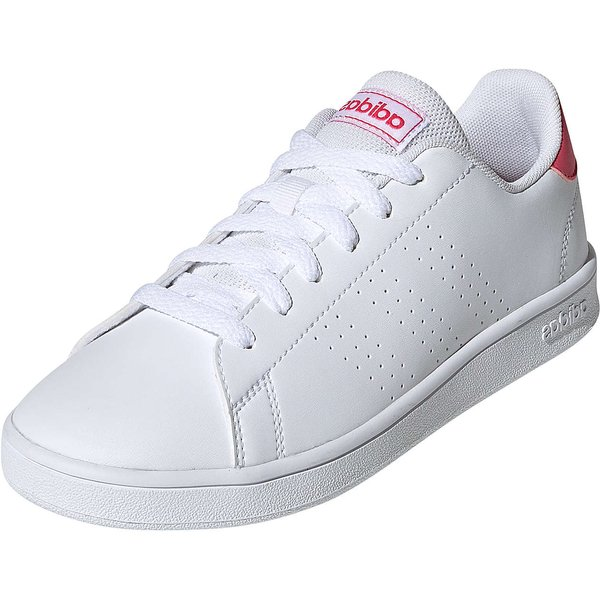 Adidas Advantage J cloud white/real pink/cloud white