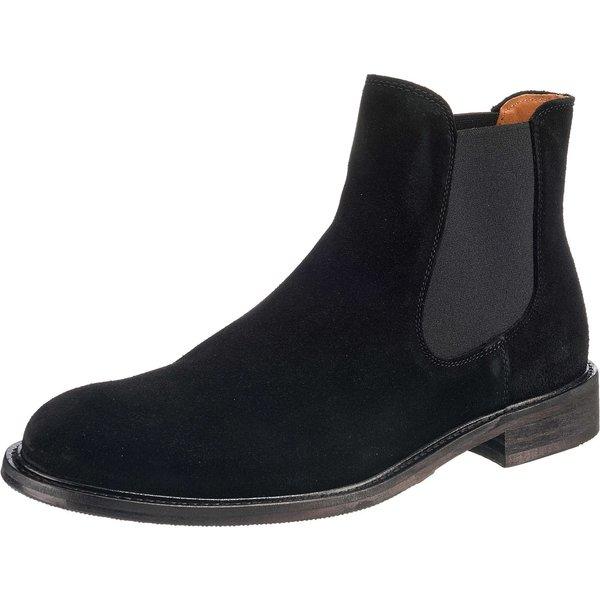 SELECTED HOMME Chelsea Boots schwarz Herren Gr. 46