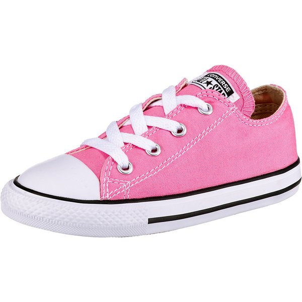 Converse ALL STAR OX girls's Shoes (Trainers) in Pink