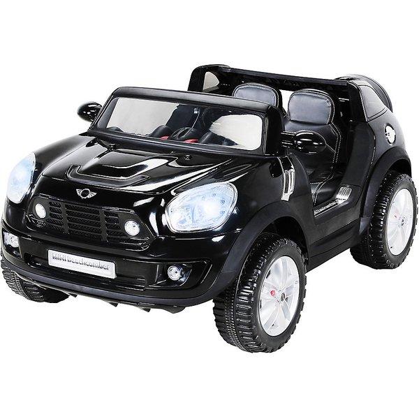 Miweba Kinder Elektro Auto BMW Mini Beachcomber XXL schwarz