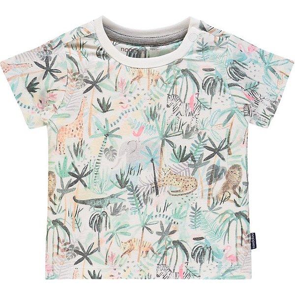 T-Shirt weiß Gr. 56 Jungen Baby