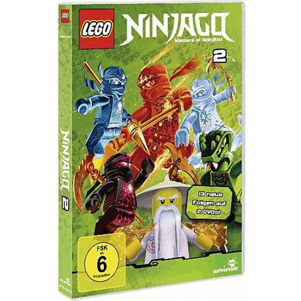 DVD LEGO Ninjago Staffel 2 (Folgen 14-26 auf 2DVDs) Hörbuch