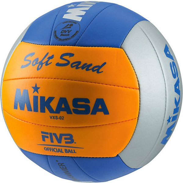 Mikasa Volleyball Soft VXS blau/orange Gr. 5