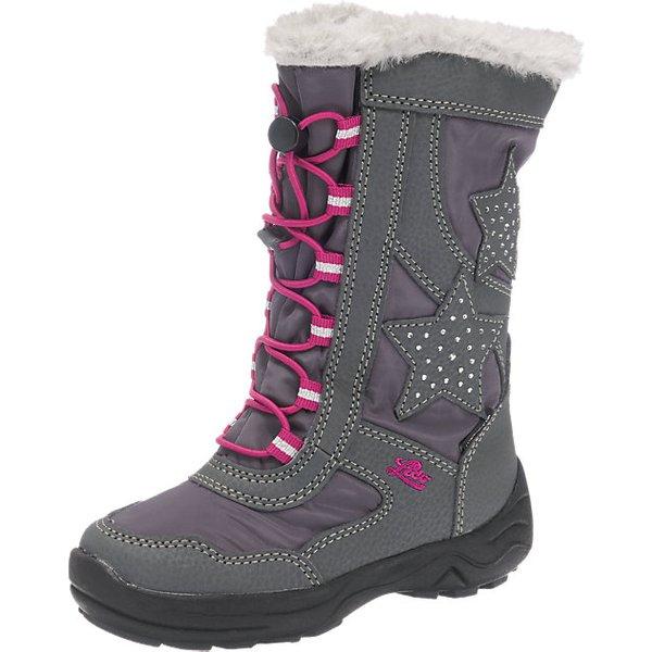 LICO Stiefel für Mädchen grau Mädchen Gr. 40