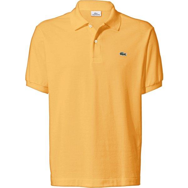 Le polo 100% coton coupe L1212 Lacoste jaune taille: 48