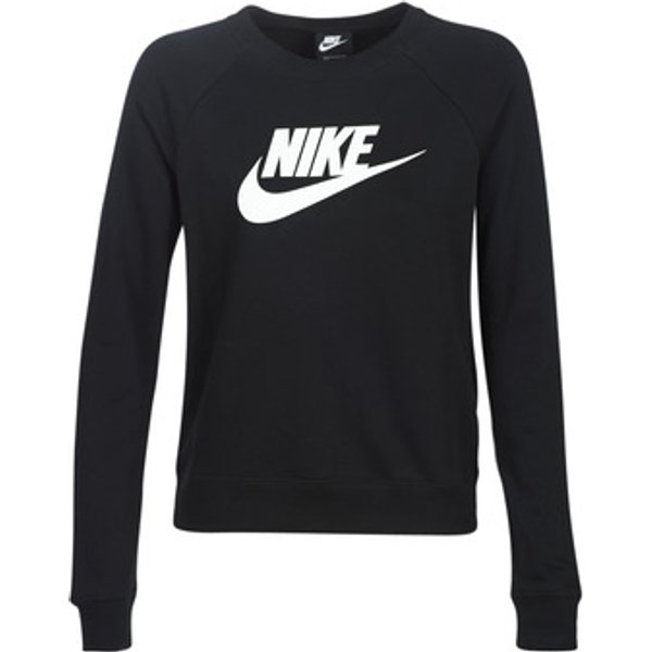 Damen Sweatshirt Essential Crewc Flc Black