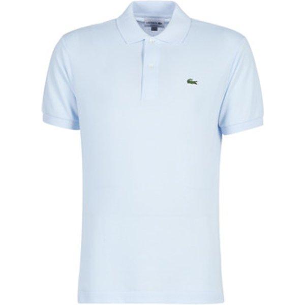 Lacoste POLO L12 12 REGULAR men's Polo shirt in Blue