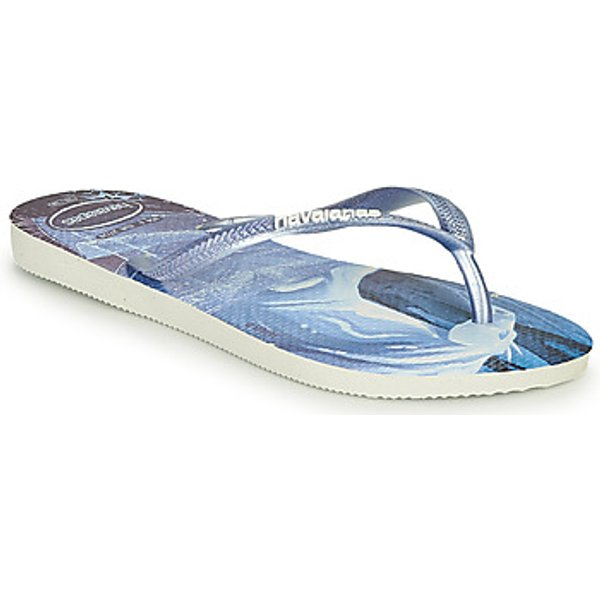 Havaianas  KIDS SLIM FROZEN  girls's Flip flops / Sandals in Blue