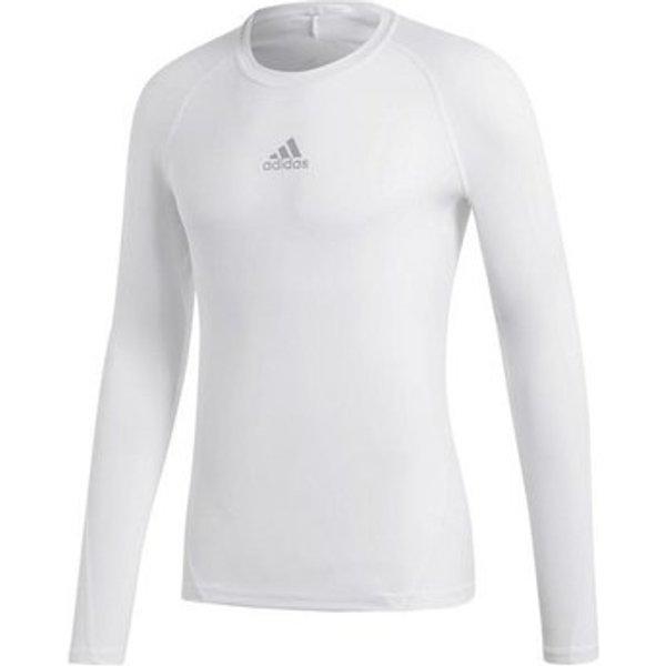 adidas Alphaskin Sport LS in White