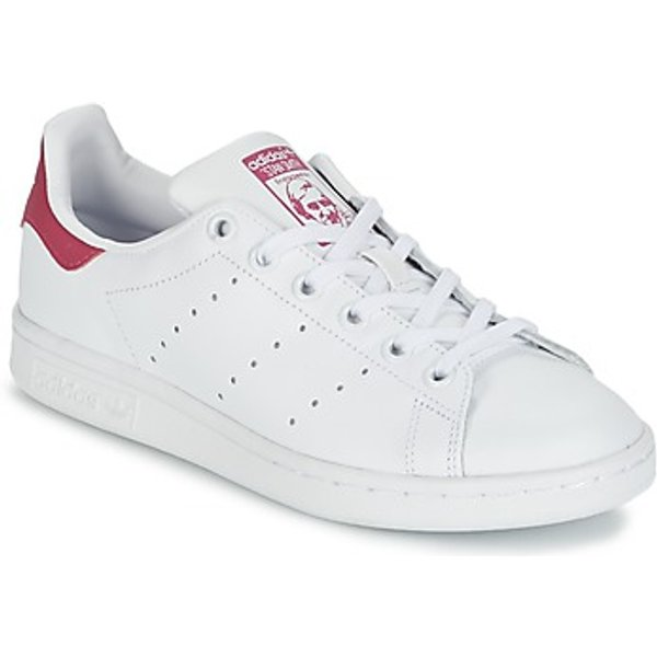 adidas  STAN SMITH J  boys's Children's Shoes (Trainers) in White