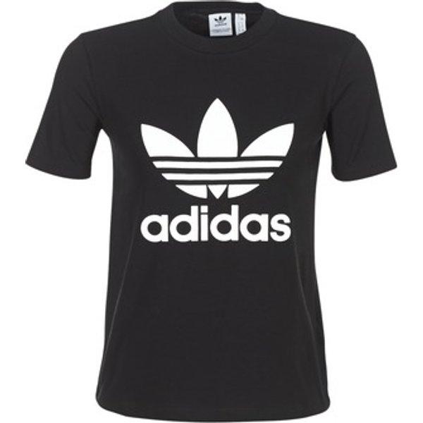 ADIDAS ORIGINALS Trefoil - T-shirt pour Femme - Noir