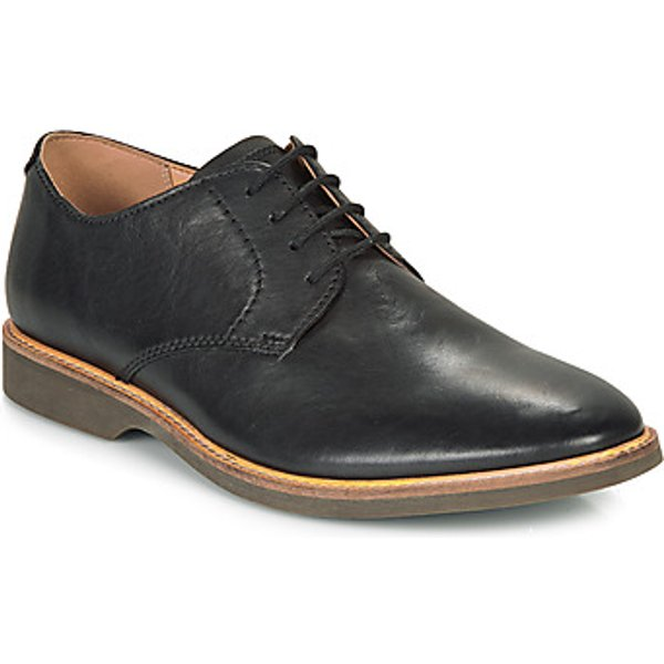 Clarks  ATTICUS LACE  men's Casual Shoes in Black. Sizes available:6.5,8.5,10
