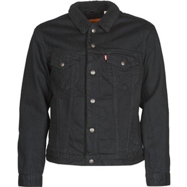 Levis  Type 3 Sherpa Trucker Jacket  in Black