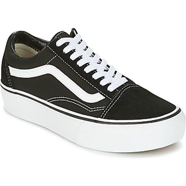 Sneakers Vans Old Skool Platform Noir pour Femmes 38,5