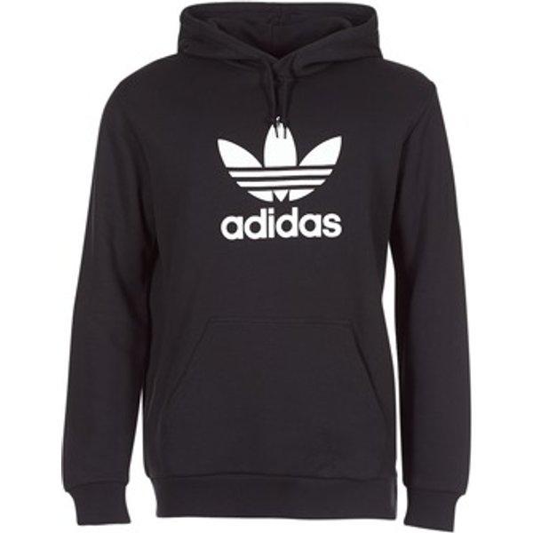 adidas Originals hoodie with trefoil logo-Black