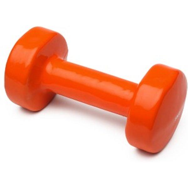 Sport-Thieme® Vinyl Fausthantel, 5 kg, Orange