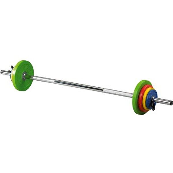 Sveltus Kit Fit'us Langhantel-Set, 16 kg
