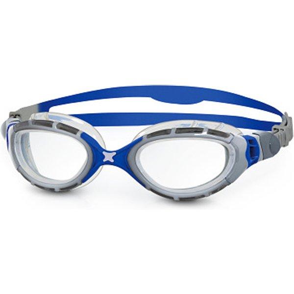 Zoggs Predator Flex 2.0 Swimming Goggles - Silver/Clear