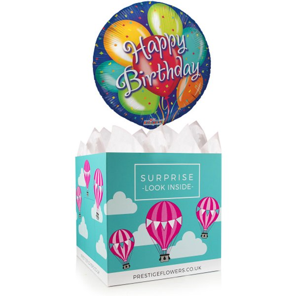 Birthday Celebrations – Balloon in a Box Gifts – Balloon Gift Delivery – Birthday Balloon Gifts – Birthday Balloon in a Box