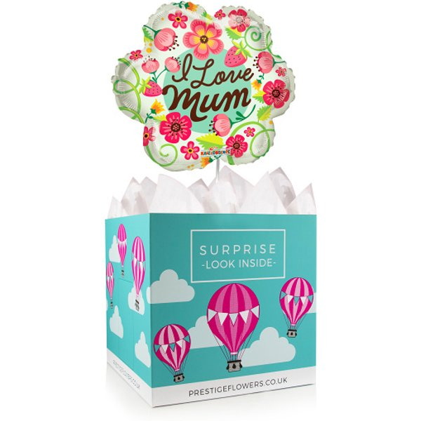 Best Mum Ever - Balloon in a Box - Balloon Gifts - Mother's Day Gifts - Mother's Day Balloons