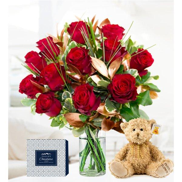 12 Rose Luxury Gift