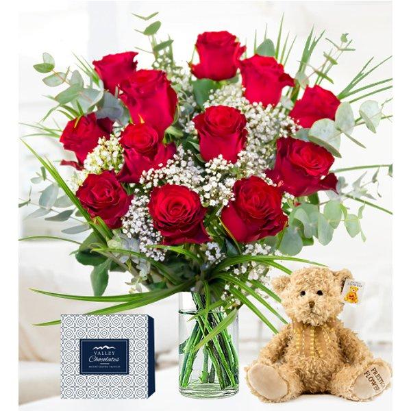Classic Red Rose Bundle