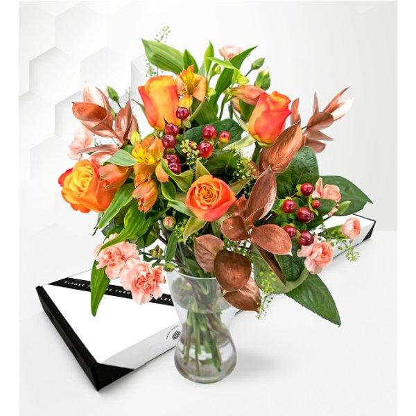 Bronze Allure – Letterbox Flowers – Luxury Letterbox Flowers – Letterbox Flowers UK – Send Letterbox Flowers