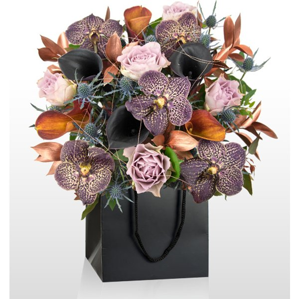 Da Vinci - National Gallery Flowers - National Gallery Bouquets - Flower Arrangement Inspired By Da Vinci - Luxury Flowers