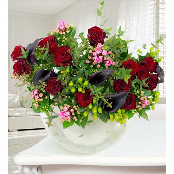 Onyx - Haute Florist Bouquet - Luxury Flowers - Birthday Flowers - Birthday Flower Delivery