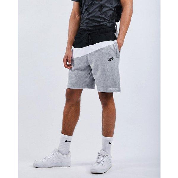 Nike Swoosh French Terry Pants (AR3161) grey/black