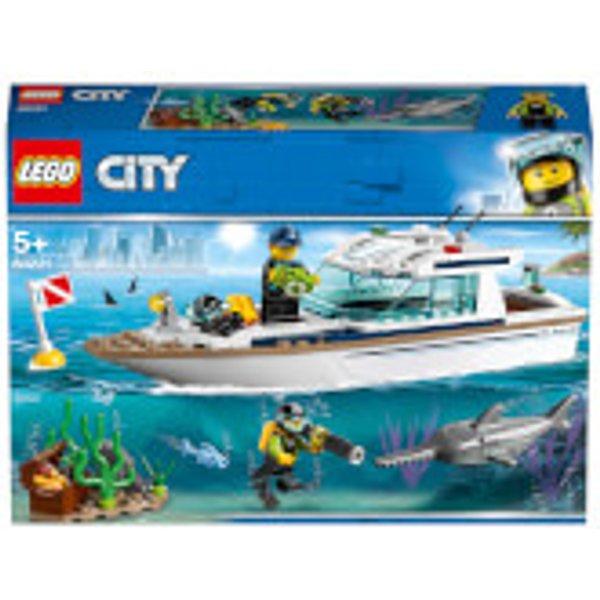 LEGO City 60221 60221 Tauchyacht