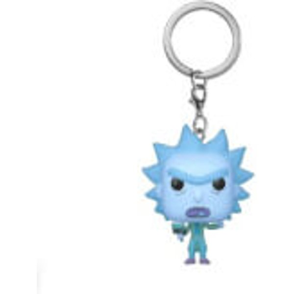 Rick And Morty Holo Rick Pocket Pop! Keychain