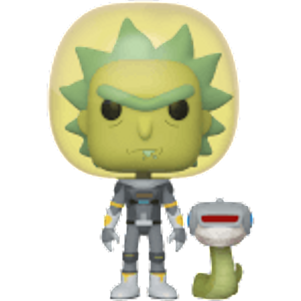 Rick and Morty Space Rick with Snake Pop! Vinyl Figure