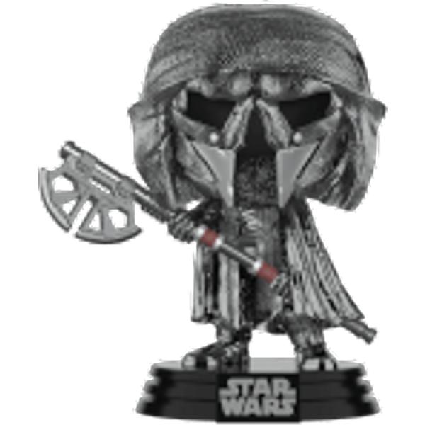 Star Wars: Rise of the Skywalker - Knights of Ren Axe (Hematite Chrome) Pop! Vinyl Figure