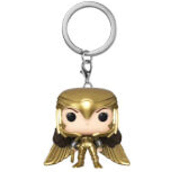 Wonder Woman 1984 Gold Power Pose Pop! Keychain