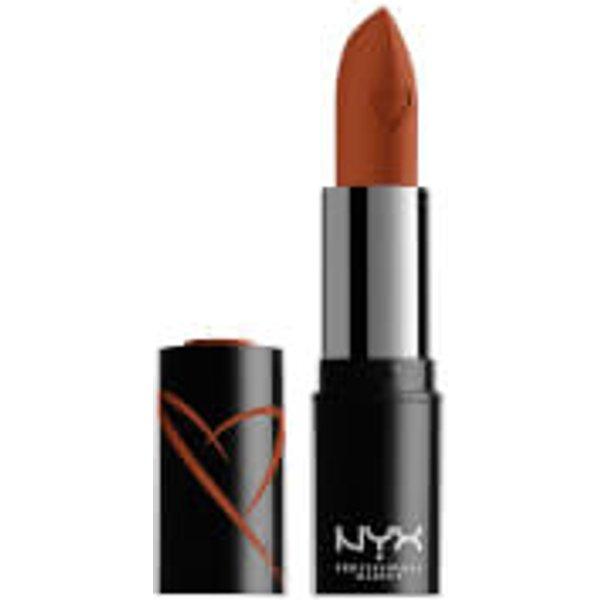 NYX Professional Makeup Shout Loud Hydrating Satin Lipstick (Various Shades) - Cactus Dreams