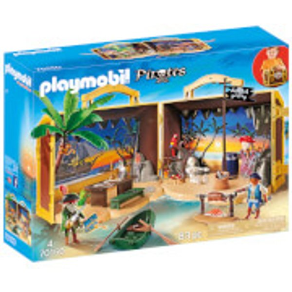 70150 Playmobil Coffre des pirates transportable