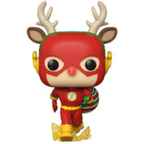 DC Comics Holiday Rudolph Flash Funko Pop! Vinyl