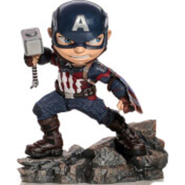Iron Studios Avengers Endgame Mini Co. PVC Figure Captain America 15 cm