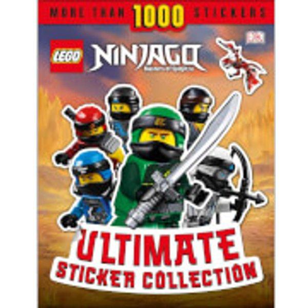 DK Books LEGO NINJAGO Ultimate Sticker Collection Paperback