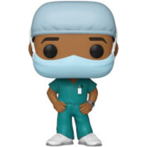 Pop! Heroes Front Line Worker Male 2 Pop! Vinyl Figure