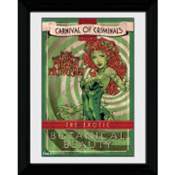 Photographie encadrée Batman Comic Circus Poison Ivy 30 x 40 cm
