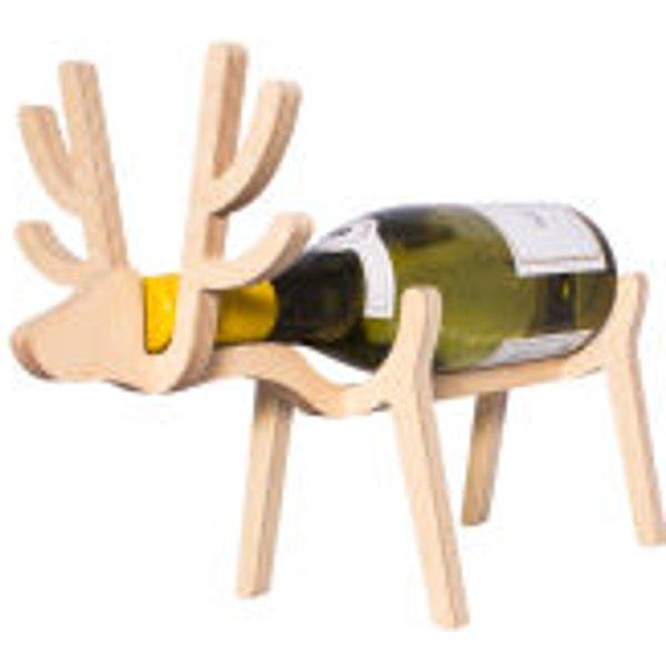 1. Reindeer Wine Rack: £12.99, Zavvi