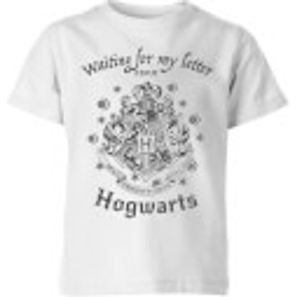 Harry Potter Waiting For My Letter From Hogwarts Kids' T-Shirt - White - 7-8 Years - White