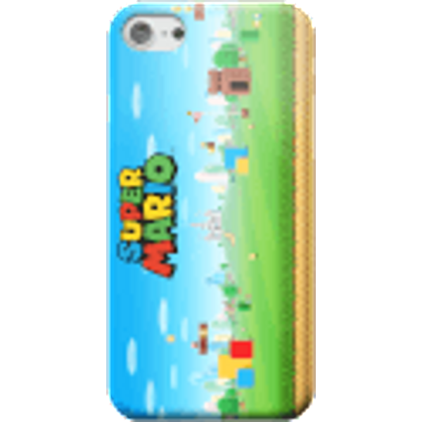 Nintendo Super Mario Full World Smartphone Hülle - iPhone 6 - Snap Hülle Glänzend
