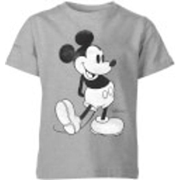 T-Shirt Enfant Disney Mickey Mouse - Gris - 11-12 ans - Gris